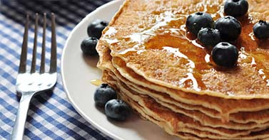 PancakesWithBlueberries